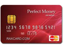 Платежная карта Perfect Money