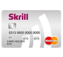 Платежная карта Skrill